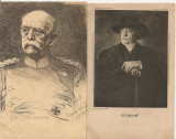 Bismarck  - lot 2 carti postale vechi ( G. Heuer & Kirmse - Germania )