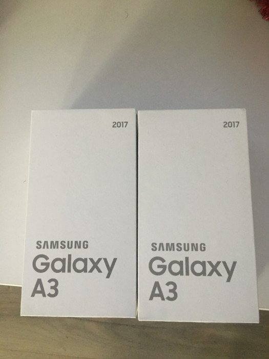 Samsung A320F 2017 Gold Sigilat Liber de Re?ea La Cel Mai Mic Pre? foto mare