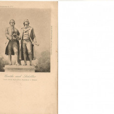 Schiller si Goethe - lot 3 carti postale vechi ( G. Heuer & Kirmse - Germania ), Necirculata, Printata, Europa