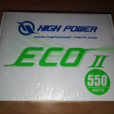 Sursa Sirtec - High Power Eco II 550W noua, sigilata - Sursa PC