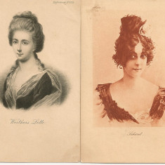 Personalitati - lot 12 carti postale vechi ( G. Heuer & Kirmse - Germania ) - 4, Necirculata, Printata, Europa