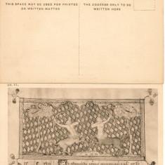 Anglia - British Museum - zodii - lot 9 carti postale vechi, Necirculata, Printata, Europa