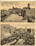 Betleem  - lot 5 carti postale vechi, Necirculata, Fotografie, Asia