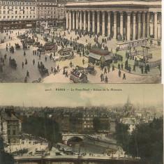 Franta - Paris - lot 19 carti postale - perioada interbelica, Ambele, Printata, Europa