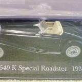 MB2. Macheta Mercedes Benz 540K Roadster, scara 1/43, IXO/Altaya - Macheta auto