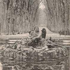 Franta - Versailles - lot 5 carti postale vechi, Circulata, Printata, Europa