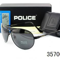 Ochelari Soare - POLICE - Polarizati 100%, Barbatesti, UV 400, Aviator - Ochelari de soare Police, Barbati