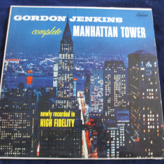 Gordon Jenkins - Manhattan Tower _ vinyl, LP, Capitol(SUA) - Muzica Pop capitol records, VINIL