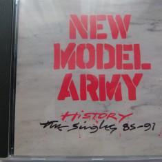 New Model Army -History - cd - Muzica Rock