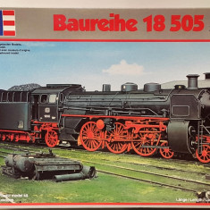 Macheta locomotiva cu aburi BR 18 (S 3/6) - Revell 02167, scara 1:87 - Macheta Feroviara Revell, HO, Locomotive