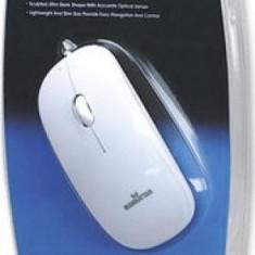 Mouse Optic Manhattan USB Silhouette 1000 dpi White