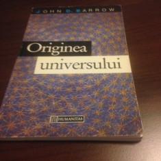 JOHN D. BARROW, ORIGINEA UNIVERSULUI - Carte Astronomie