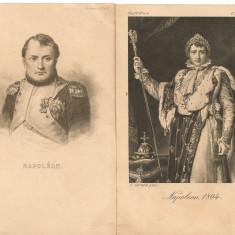 Napoleon - lot 2 carti postale vechi ( G. Heuer & Kirmse - Germania ), Necirculata, Printata, Europa