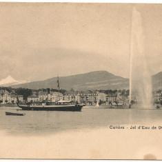 Elvetia ( Geneva, Lucerna ) - lot 3 carti postale vechi, Ambele, Printata, Europa