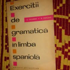 Exercitii de gramatica in limba spaniola 181pag- Escudero / Copceag - Curs Limba Spaniola