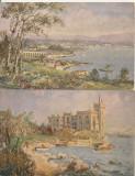 Italia (Roma, Trieste )  - lot 3 carti postale vechi, Necirculata, Printata, Europa