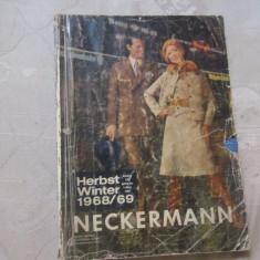 Neckermann anul 1968 1969 are copertile decolorate dar paginile sunt ca noi - Revista moda