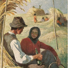Tuck's post card - lot 2 carti postale vechi, Necirculata, Printata, Europa