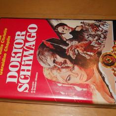 DOCTOR JIVAGO - FILM DE COLECTIE ( IN LIMBA GERMANA ) CASETA VIDEO VHS - Film Colectie mgm, Altele
