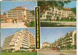CPI (B8260) CARTE POSTALA - COVASNA. HOTEL BRADUL, SPITALUL CARDIO-VASCULAR...., Circulata, Fotografie