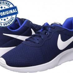 Adidasi barbat Nike Tanjun - adidasi originali - adidasi alergare - Adidasi barbati Nike, Marime: 42.5, Culoare: Indigo, Textil