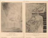 Anglia - British Museum -reproduceri  - lot 14 carti postale vechi, Necirculata, Printata, Europa