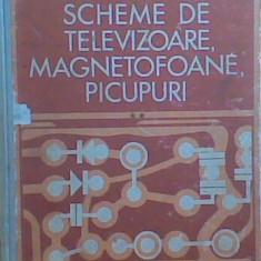 M.Silisteanu  - Scheme de televizoare magnetofoane picupuri (Vol.1 + 2)