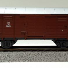 Vagon marfa acoperit CSD, Roco 4310, scara H0 / 1:87 / 16, 5 mm - Macheta Feroviara Roco, Vagoane