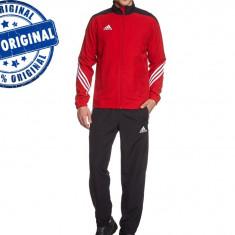 Trening barbat Adidas Sereno - trening original - treninguri pantaloni conici - Trening barbati Adidas, Marime: S, Culoare: Din imagine, Poliester