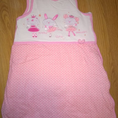 Sac de dormit SMYK roz lungime 68 - Lenjerie pat copii Altele, Alte dimensiuni
