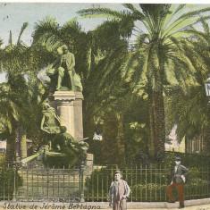Franta - Bone  - lot 2 carti postale - 1920, Circulata, Printata, Europa