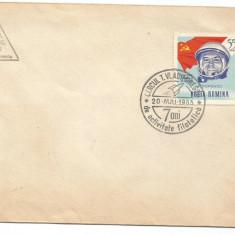 (No1) ROMANIA -1965- Cercul filatelic T.Vladimirescu 7 ani de activitate