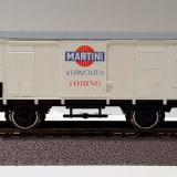 Vagon frigorific 'Martini' PIKO 5/6448/105, scara H0 / 1:87 / 16, 5 mm - Macheta Feroviara, HO, Vagoane