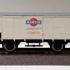 Vagon frigorific 'Martini' PIKO 5/6448/105, scara H0 / 1:87 / 16, 5 mm - Macheta Feroviara Piko, Vagoane