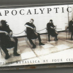 A(01)  Caseta audio- Apocalyptica - Plays Metallica By Four Cellos