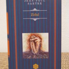 Jean-Paul Sartre - Zidul, 2014 (cartonata) - Roman, Anul publicarii: 2016