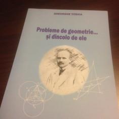 GHEORGHE TITEICA, PROBLEME DE GEOMETRIE... SI DINCOLO DE ELE - Carte Matematica