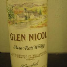 , whisky - PURE MALT, GLEN NICOL, cl 70 gr 40