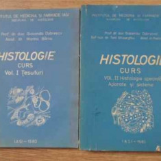 Histologie Curs Vol.1-2 Tesuturi, Histologie Speciala Aparate - Gioconda Dobrescu, Marina Barsu, 394490