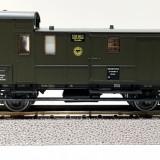 Vagon bagaje DRG Sachsenmodelle 16004, scara H0 / 1:87 / 16, 5 mm - Macheta Feroviara, HO, Vagoane
