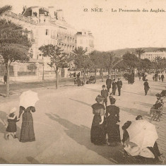 Franta - Nisa - lot 2 carti postale - 1905 si 1909, Circulata, Printata, Europa