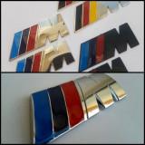 Emblema/sigla/sticker BMW ///M metal caroserie/interior - Embleme auto
