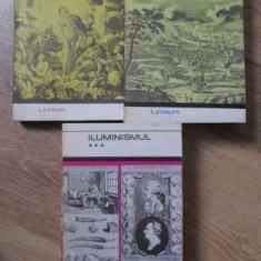 Iluminismul Vol.1-3 - Antologie, Studiu Introductiv Si Note Biobibliogra, 394452 - Biografie