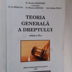 Teoria generala a dreptului - edita a II a Gradinaru Mihalcea Neagu Aghenitei - Carte Teoria dreptului