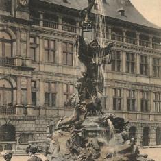 Belgia - Anvers - lot 10 carti postale vechi, Necirculata, Printata, Europa