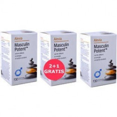 Masculin Potent 30cpr 2+1 Gratis, ALEVIA - Produs tratarea prostatei