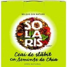 Ceai De Slabit Cu Seminte De Chia 2gr x 20dz, SOLARIS