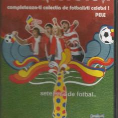 A(02) FOTBALUL NE UNESTE PE TOTI-Pele - DVD fotbal