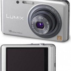 Panasonic Lumix FS22 Aparat foto touchscreen - Aparat Foto compact Panasonic, Compact, 16 Mpx, 4x, 3.0 inch