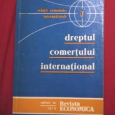 Dreptul Comertului international / Detesan/ Rucareanu/ Stefanescu - Carte Drept international